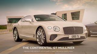 EUROPESE OMROEP | OPENN  | Continental GT Mulliner – The Luxury Pinnacle of the Continental GT Family | Bentley Motors
