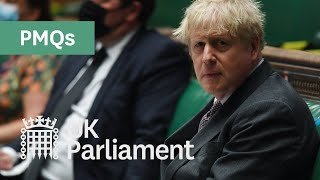 EUROPESE OMROEP | OPENN  | Prime Minister's Questions (PMQs) - 28 April 2021
