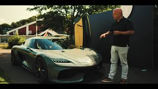 EUROPESE OMROEP | OPENN  | Koenigsegg Gemera walk-through
