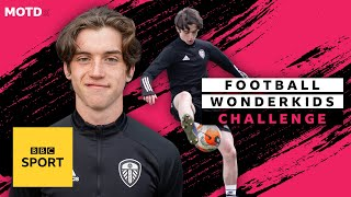 EUROPESE OMROEP | OPENN  | Leeds wonderkid Ronnie McGrath scores BIG in 50 second challenge | MOTDx Wonderkids Challenge