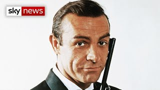 EUROPESE OMROEP OPENN James Bond actor Sir Sean Connery