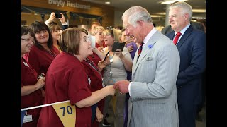 EUROPESE OMROEP OPENN The Prince of Wales sends a messa