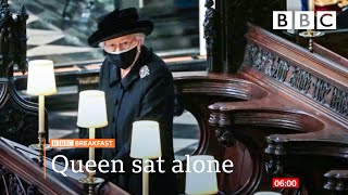 EUROPESE OMROEP OPENN Prince Philip's funeral: The Queen and