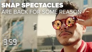 EUROPESE OMROEP | CNET | Snap Spectacles are back...why??? (The 3:59, Ep. 393) | 1524757974 2018-04-26T15:52:54+00:00