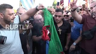 EUROPESE OMROEP OPENN Greece: Azerbaijani flag burnt at