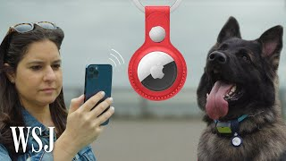 EUROPESE OMROEP | OPENN  | Apple AirTag vs. Drug-Detection Dog: Best Way to Find Your Lost Stuff | WSJ