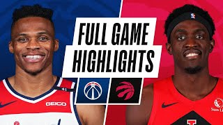 EUROPESE OMROEP | OPENN  | WIZARDS at RAPTORS | FULL GAME HIGHLIGHTS | May 6, 2021