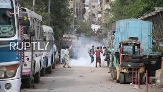 EUROPESE OMROEP OPENN Pakistan: TLP supporters clash with po