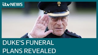 EUROPESE OMROEP OPENN Prince Philip's funeral details r