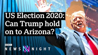 EUROPESE OMROEP | OPENN  | US Election 2020: Will Arizona turn its back on the Republican Party? - BBC Newsnight