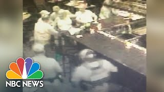 EUROPESE OMROEP | NBC News | Security Footage Shows Fugitive Lois Riess' Arrest | NBC News | 1524672413 2018-04-25T16:06:53+00:00