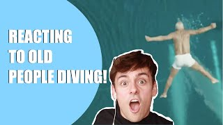 EUROPESE OMROEP OPENN REACTING TO OLD PEOPLE DIVING! I