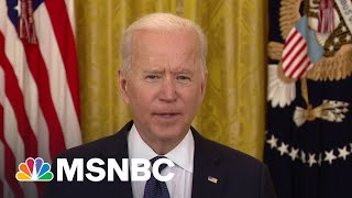 EUROPESE OMROEP | OPENN  | President Joe Biden Says FBI Is 'Engaged' To Assess, Address Colonial Pipeline Cyberattack | MSNBC