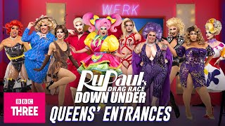 EUROPESE OMROEP | OPENN  | All The Queens' Entrances: Drag Race Down Under