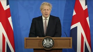 EUROPESE OMROEP | OPENN  | In full: Boris Johnson signs off the return of indoor socialising and dining from May 17