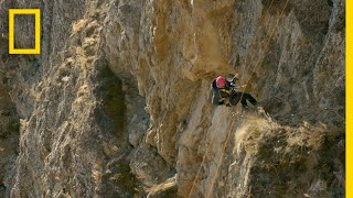 EUROPESE OMROEP | OPENN  | Three People Rappel Down a Cliff | Race to the Center of the Earth