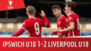 EUROPESE OMROEP | OPENN  | Ipswich U18 vs Liverpool U18 (1-2) | Super-sub Frauendorf! | FA Youth Cup Semi-Final Highlights