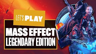 EUROPESE OMROEP | OPENN  | Let's Play Mass Effect Legendary Edition PS5 Gameplay - CHECKING OUT THE FIRST HOUR OF EACH GAME!