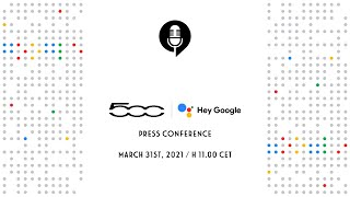 EUROPESE OMROEP | OPENN  | FIAT 500 FAMILY HEY GOOGLE – PRESS CONFERENCE