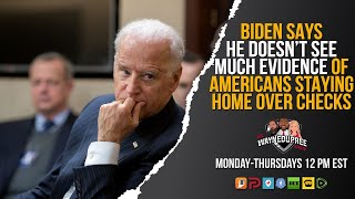 EUROPESE OMROEP | OPENN  | Biden Claims No Evidence of People Staying Home For COVID Checks