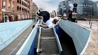 EUROPESE OMROEP | OPENN  | Most SCARY Parkour move EVER! 🇬🇧