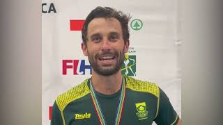 EUROPESE OMROEP | OPENN  | South Africa's Indoor Hockey Captain Jethro Eustice delighted as the team qualifies for FIH IndoorWC