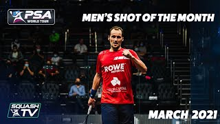 EUROPESE OMROEP OPENN Squash: Shot of the Month - March 2021