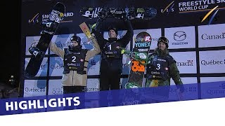 EUROPESE OMROEP | FIS Snowboarding | Max Parrot reigns supreme in Quebec City Big Air | Highlights | 1521947461 2018-03-25T03:11:01+00:00