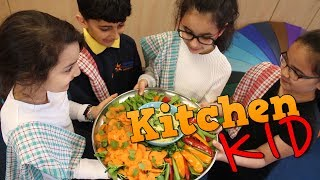 EUROPESE OMROEP | BBC Good Food | How to make a healthy hummus dip with Morningside School - LitFilmFest Kitchen Kid - BBC Good Food | 1524235609 2018-04-20T14:46:49+00:00