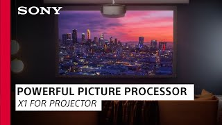 EUROPESE OMROEP | OPENN  | Sony | Learn about X1 for Projector; A Powerful Picture Processor