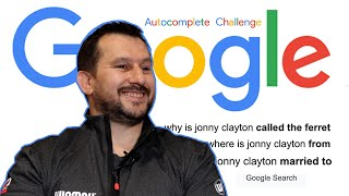 EUROPESE OMROEP   OPENN    Jonny Clayton Answers the Web's Most Searched Questions   Autocomplete Challenge