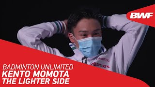 EUROPESE OMROEP | OPENN  | Badminton Unlimited | Quickfire quiz with Kento Momota | BWF 2021