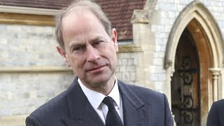 EUROPESE OMROEP OPENN Prince Edward speaks of 'dreadf
