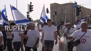 EUROPESE OMROEP | OPENN  | East Jerusalem: Israeli nationalists march on Jerusalem Day as tensions mount