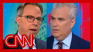 EUROPESE OMROEP | OPENN  | Jake Tapper presses WH Covid-19 coordinator on vaccinated Biden wearing a mask