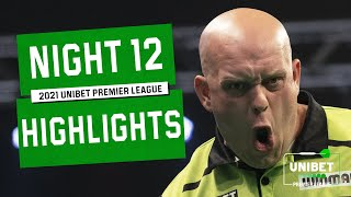 EUROPESE OMROEP | OPENN  | MvG and Anderson 🔥 | Night 12 Highlights | 2021 Unibet Premier League