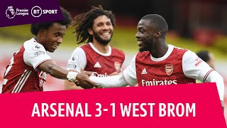 EUROPESE OMROEP | OPENN  | Arsenal vs West Brom (3-1) | Pepe Scores Screamer As Baggies Relegated ! | Premier League Highlights