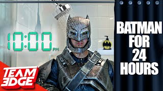 EUROPESE OMROEP | OPENN  | Living like BATMAN for 24 HOURS!! *Can't Remove Suit!*