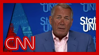 EUROPESE OMROEP OPENN Boehner: 'Republicans have to go back