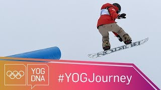 EUROPESE OMROEP | Youth Olympic Games | Chloe Kim [USA] - The Youth Olympic champion aiming for glory at PyeongChang #YOGjourney | 1516903203 2018-01-25T18:00:03+00:00