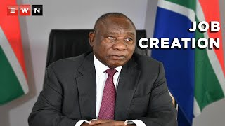 EUROPESE OMROEP | OPENN  | Ramaphosa: Job creation is the main focus of this administration
