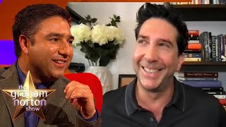 EUROPESE OMROEP | OPENN  | Why David Schwimmer & Nick Mohammed Got Questioned By The NSA | The Graham Norton Show