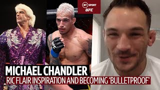 EUROPESE OMROEP | OPENN  | Michael Chandler on becoming UFC Champion and being inspired by Ric Flair and Rey Mysterio!