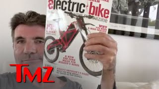 EUROPESE OMROEP | OPENN  | Simon Cowell Explains Difference Between New and Old Electric Bike | TMZ