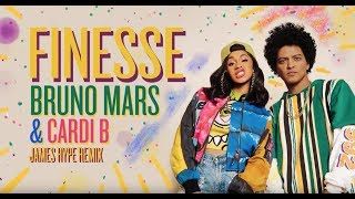 EUROPESE OMROEP | OPENN  | Bruno Mars - Finesse (James Hype Remix) (feat. Cardi B) (Official Audio)