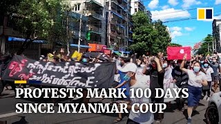 EUROPESE OMROEP | OPENN  | Myanmar marks 100 days since military coup with pop-up protests across major cities