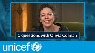 EUROPESE OMROEP | OPENN  | COVID-19 Vaccines: 5 Questions with Olivia Colman | UNICEF