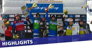 EUROPESE OMROEP | FIS Snowboarding | Perathoner and Visintin triumph in the Team SBX WC Moscow | Highlights | 1520762845 2018-03-11T10:07:25+00:00