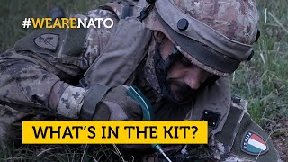 EUROPESE OMROEP | OPENN  | What's in the kit of an Italian🇮🇹 combat engineer?