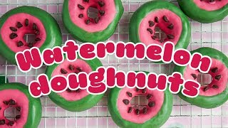 EUROPESE OMROEP | BBC Good Food | How to make WATERMELON doughnuts 🍩🍉 - BBC Good Food | 1523625450 2018-04-13T13:17:30+00:00